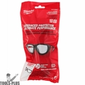 Milwaukee 48-73-2041 Clear Performance Safety Glasses w/ Gasket (Polybag)
