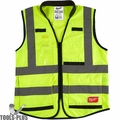 Milwaukee 48-73-5043 High Vis Yellow Performance Safety Vest - 2X/3X-Large