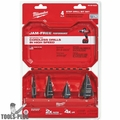 Milwaukee 48-89-9223 Step Drill Bit Set (4 PC) #1, #4, #7, #12