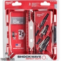 Milwaukee 48-89-9256 SHOCKWAVE Impact Step Bit Mechanical Set (#2, #3, #8)