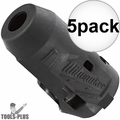 """Milwaukee 49-16-2553 M12 FUEL 1/4"""" Impact Driver Wrench Protective Boot 5x"""