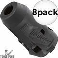 """Milwaukee 49-16-2553 M12 FUEL 1/4"""" Impact Driver Wrench Protective Boot 8x"""