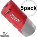 Milwaukee 49-24-2310 12 Volt M12 Power Source Port (Tool Only) 5x