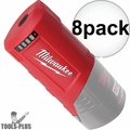 Milwaukee 49-24-2310 12 Volt M12 Power Source Port (Tool Only) 8x