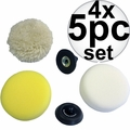 Milwaukee 49-36-2438 5pc Accessory Pack for M12 Polisher/Sander