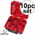 Milwaukee 49-56-9085 10 Piece Big Hawg Hole Cutter Kit