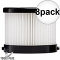 Milwaukee 49-90-0160 Replacement Wet-Dry Filter for 0882-20 0882-21 8x