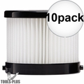 Milwaukee 49-90-0160 Replacement Wet-Dry Filter for 0882-20 0882-21 10x