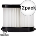 Milwaukee 49-90-0160 Replacement Wet-Dry Filter for 0882-20 0882-21 12x