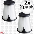 Milwaukee 49-90-1950 2pk HEPA Filter Replacement for 0850-20 Compact VAC 2x