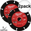 "Milwaukee 49-94-3005 3"" Carbide Abrasive Blade 2x"