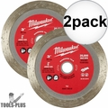 "Milwaukee 49-94-3010 3"" Diamond Tile Blade 2x"