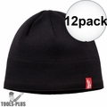 Milwaukee 502B Black Fleece Lined Beanie 12x