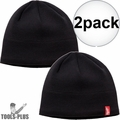 Milwaukee 502B Black Fleece Lined Beanie 2x