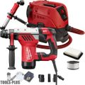"Milwaukee 5268-21 1-1/8"" SDS Plus Rotary Hammer w/HEPA Dust Extractor"