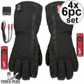 Milwaukee 561-21L USB Rechargeable Heated Work Gloves - Large 4x