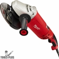 "Milwaukee 6088-31 15 Amp 7""/9"" Large Angle Grinder (Non Lock-on)"