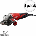 "Milwaukee 6117-30 5"" 13.0 Amp Small Angle Grinder PLUS lock-on 4x"