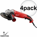 """Milwaukee 6124-31 4x 5"""" 13 Amp Trigger Switch Small Angle Grinder"""