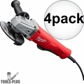"Milwaukee 6141-31 11A 4-1/2"" Angle Grinder Paddle No LockOn 4x"