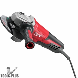 Metabo 613060420 5-Inch 8-Amp Corded Flat-Head Angle Grinder with Slide Switch
