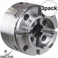 "Nova Lathes 48232 1"" 8TPI Thread G3 Comet II Reversible Turning Chuck 3x"