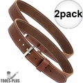 """Occidental Leather 5002 2x 2"""" Leather Work Belt - Large"""