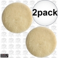 "Porter-Cable 18007 6"" Lamb's Wool Hook & Loop Polishing Pad 2x"