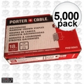 "Porter-Cable PNS18063 5,000 5/8"" x 1/4"" 18 Gauge Narrow Crown Staples"