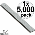 "Porter-Cable PNS18075 Box of 5,000 3/4""x1/4"" Galvanized 18 Ga Crown Staples"