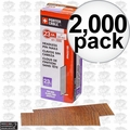"""Porter-Cable PPN23100 1"""" 23 Gauge Pin Nails (2000 Count)"""