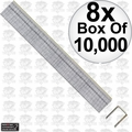 "Porter-Cable PUS38G Box of 10,000 3/8"" x 3/8"" 22 Gauge Upholstery Staples 8x"