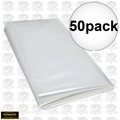 Powermatic 6050011 50pk Clear Plastic Lower Collection Bags