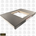 """Powermatic 6827043 30-1/2"""" x 21-1/2"""" Wood Extension Table w/ Cutout - PM2000"""