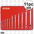 Proto J1100S-M 11pc 7mm - 32mm Metric Box Wrench Set 12 Point