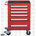 Proto J463042-6RD 6 Drawer 460 Series Red Roller Cabinet
