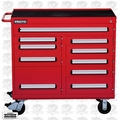 "Proto J464542-10RD 10 Drawer 460 Series 45"" Red Workstation"