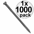 "Quik Drive DCU234SGR 1000pk #10x2-3/4"" Gray Collated Composite Deck Screw"