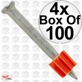 "Ramset 1512 Box of 100 1-1/2"" Pins 4x"