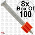 "Ramset 1512 Box of 100 1-1/2"" Pins 8x"