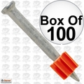 "Ramset 1512 Box of 100 1-1/2"" Pins"