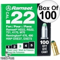 "Ramset 32CW Box of 100 #3 ""Green"" 22 cal Single Shot Loads"