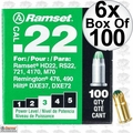 "Ramset 32CW Boxes of 100 #3 ""Green"" 22 cal Single Shot Loads 6x"