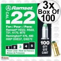 "Ramset 32CW Box of 100 #3 ""Green"" 22 cal Single Shot Loads 3x"