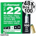 "Ramset 32CW 48x Box of 100 #3 ""Green"" 22 cal Single Shot Loads"