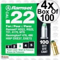 "Ramset 32CW Box of 100 #3 ""Green"" 22 cal Single Shot Loads 4x"