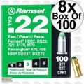 "Ramset 32CW Box of 100 #3 ""Green"" 22 cal Single Shot Loads 8x"