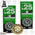 """Ramset 3D60 10 Discs of 10 (200 total) #3 """"Green"""" 25 cal Round Disc Loads 2x"""