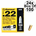 "Ramset 42CW 24x 100pk #4 ""Yellow"" 22 cal Single Shot Loads"