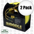 "Rolair 14100NOODLE 1/4"" x 100' Noodle Air Hose with Coupler and Plug 2x"